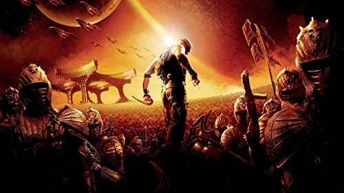 prindesign The Chronicles of Riddick - Movie Poster Wall Decor Filmplakat - 66 X 40 cm