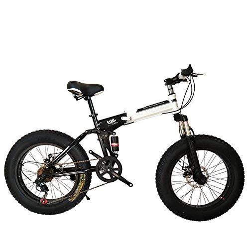 Z-LIANG Bicicletas Plegables Bicicletas de montaña de 26 Pulgadas con Marco de Acero súper Ligero, de Doble suspensión de la Bici Plegable y 27 Speed Gear, Negro, 27Speed