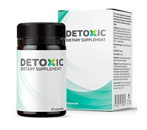 Detoxic – Suplemento dietético - Tratamiento de desintoxicación de 10