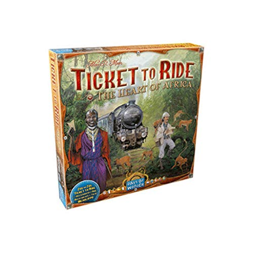 Ticket to Ride The Heart of Africa Standard