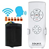 Smart WiFi Ceiling Fan Remote Control Kit Universal Small Size Receiver 12 Hours Countdown Timing 4 Speeds Compatible with Echo Alexa Google Assistant Replacement of Hampton Bay Harbor Breeze Hunter
