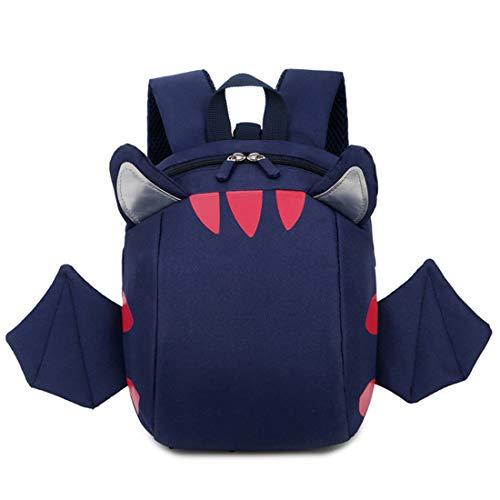 X-Labor Engel Kinderrucksack mit Leine Antiverlust Sicherheitsgurt mit Brustgurt 1-3 Jahr Babyrucksack Kleinkinder Mädchen Jungen blau