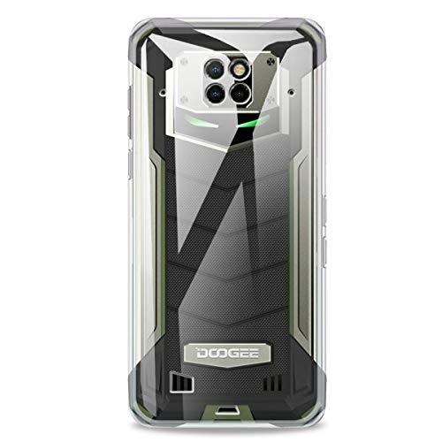 SCDMY Für Doogee S88 Pro Hülle, Weiche Silikon Handyhülle, Ultra Dünn Stoßfest Anti-Scratch Schutzhülle, Transparente TPU Hülle Für Doogee S88 Pro (6.3