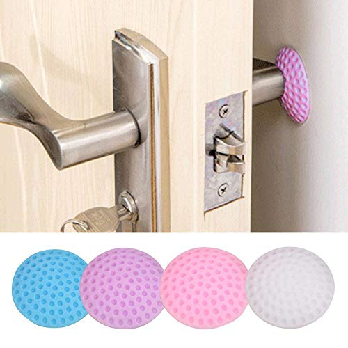 Best Buy! 5/3/1Pcs/Lot Protection Baby Safety Shock Absorbers Security Card Rubber Door Stoppers Wal...