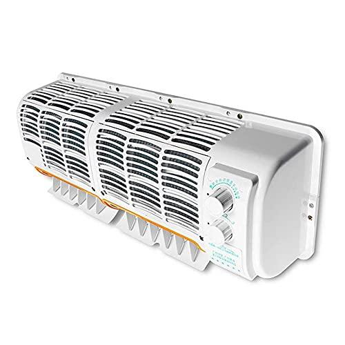 WXJWPZ 12VAcondicionador de Aire del Coche montado en la Pared del Ventilador de refrigeración del evaporador para RV Caravana de Camiones multifunción Acondicionado del Aire del Ventilador