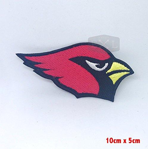NFL 18 Arizona Cardinals Heavy Metal Rock Band - Parche bordado para...