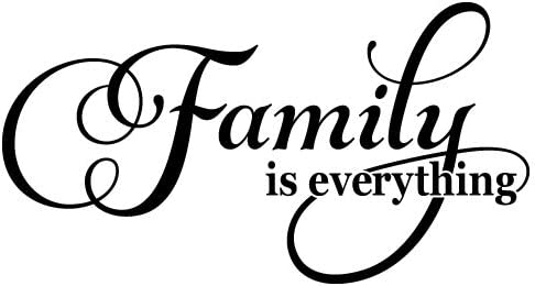 Latest item Family is Everything Ranking TOP20 Quote Vinyl Sticker Decal Removab Wall Art