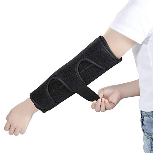 Elbow Brace Support Splint for Cubital Tunnel Syndromean and Arthritis Pain Relief, Medical Stabilizer Brace for Fix Elbow, Prevent Excessive Bending at Night, Fits Both Arms and Unisex (Large/XL)