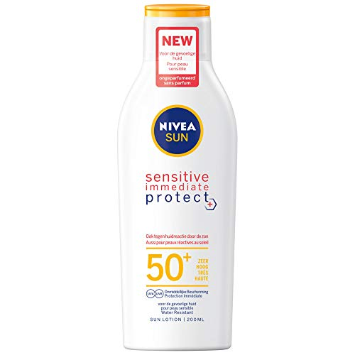 Nivea Sensitive Anti-Allergie-Sun Lotion LSF 50, 200 ml
