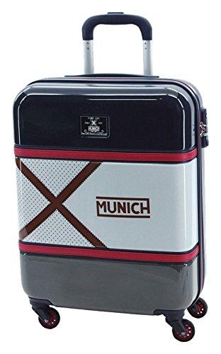 Munich Retro Equipaje de Mano, 38 Litros, Color Azul