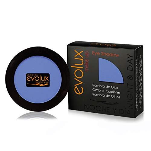 Sombra de Ojos Color N.15 Azul Mate, EVOLUX Eye Shadow 4 gr.
