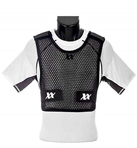221B Tactical Men's Maxx-Dri 3.0 Body Protection Airflow Ventilation Police Vest, Black, XXX-Large/XXXX-Large