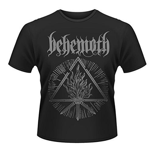 Behemoth Herren Furor Divinus T-Shirt, Schwarz, (Herstellergröße: Large)