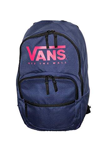 VANS Blue Pink BackPack MOTIVATEE 2 laptop Travel Uni School Work