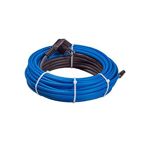 Wasserdichtes Frostschutz-Heizkabel 15W/m 36m Heizleiter Eisfrei Heizleitung