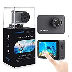 Best Action Cameras under 150 dollars - AKASO V50 Pro