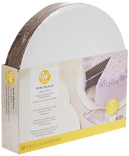 Wilton Cake Boards, Set of 12 Round Cake Boards...