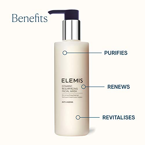 ELEMIS Dynamic Resurfacing Facial Wash, 6.7 Fl Oz