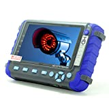 Profesional CCTV Tester IV8C 5 Pulgadas 5MP AHD TVI 4MP CVI CVBS Tester de cámara de Seguridad Probador coaxial HD Monitor de Video con Controlador PTZ Prueba de Cable UTP DC 12V Salida