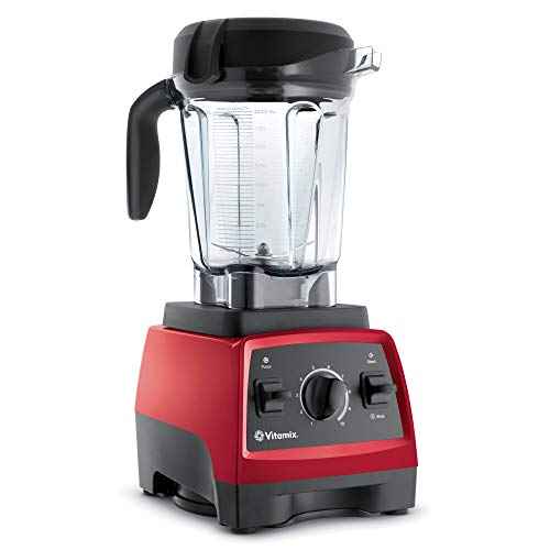 Vitamix Next Generation Blender, Professional-Grade, 64oz. Low-Profile Container, Red (Renewed)