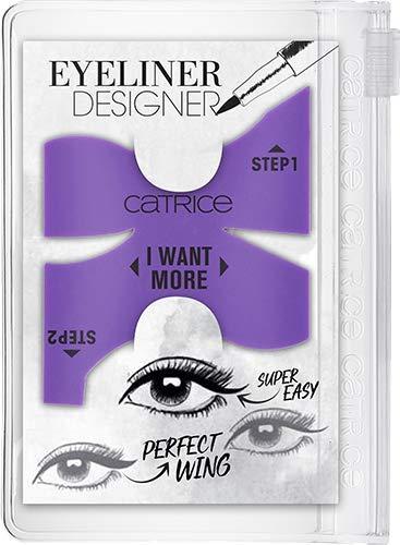 Catrice Eyeliner Designer, Nr. 010 I'm Your WINGman, violett, vegan, Nanopartikel frei, ohne Parfüm