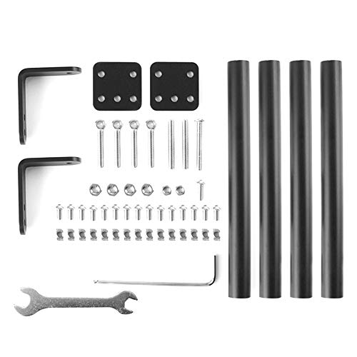 Kamenda for Creality Ender-3 3S 3Pro V2 3D Printer Supporting Pull Rod Kit Aluminum Alloy Tie Rod Set Fixed Support Frame Kit