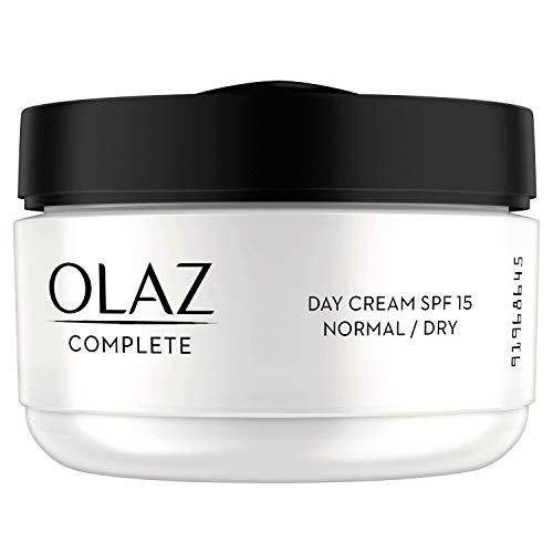 Olaz Complete 3 in 1 Crema Giorno Con SPF15 per Pelli Normali e Secche, 50 ml
