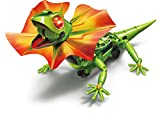 Elenco Teach Tech King Lizard, Interactive Lizard Robot Kit, STEM Creative Toys for Kids 10+