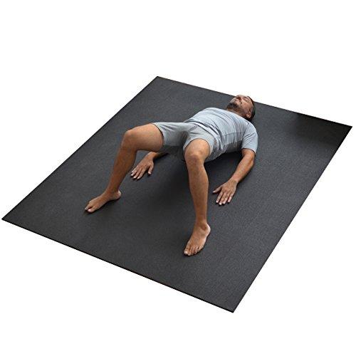 WideMat Esterilla de Yoga Pro Eco 153X183 cm. Antideslizante. El Doble de Ancha Que una Esterilla No