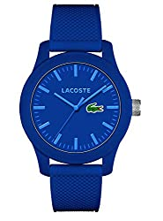 This sporty and clasical watch is perfect for every occasion! High quality 19 cm length and 18 mm width Blue Rubber strap with a Buckle Case diameter: 43 mm,case thickness: 12 mm, case colour: Blue and dial colour: Blue Water resistant: 3 bars-Weight...