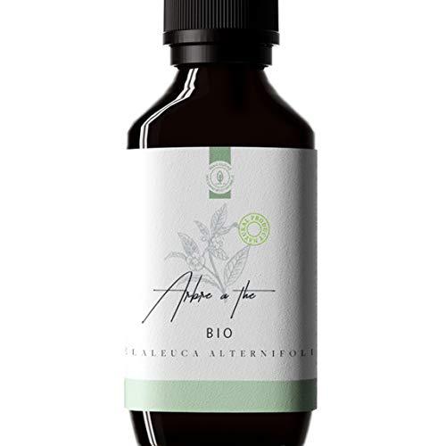 50ml Huile Essentielle Tea Tree BIO (Arbre à thé/Melaleuca alternifolia) - 100% Pure, Naturelle et Biologique - Embouteillée en France