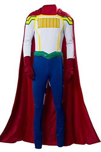 RedJade Lemillion My/Boku no Hero Academia Mirio Togata Uniforme Traje de Cosplay Disfraz Hombres XS