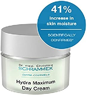 Dr. Christine Schrammek Hydra Maximum Day Cream -50 Ml. Daily Source of Moisture for Highest Demands
