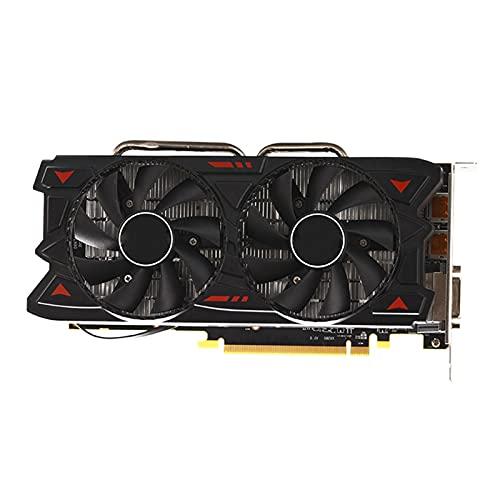 Tarjeta de Video Radeon RX 580 8GB GDDR5 256Bit Rx580 Tarjeta gráfica 8GB para minería Non GTX 960 1050 1060 GPU Tarjeta gráfica Externa Radeon RX