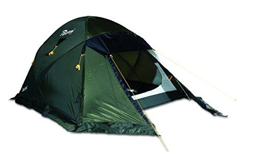 BERTONI Basecamp 2 EST. Ripstop Tienda de campaña para Alpinismo y Excursionismo, Verde Oscuro, Tamaño Único