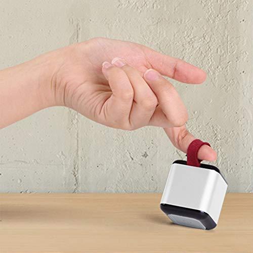 OPAKY Mini Bluetooth-Lautsprecher mit Karabiner-Unterstützung 2 Verbindungen für iPhone, Samsung usw