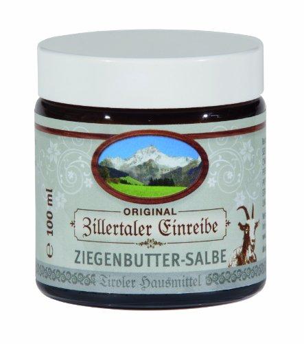 Zillertaler Einreibe Ziegenbutter-Salbe, 1er Pack (1 x 100 ml)