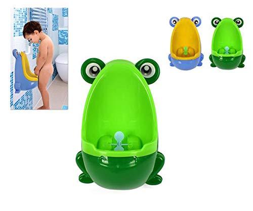 2S Vasino per Bambini a Forma di Rana con Elica - Verde o Azzurro