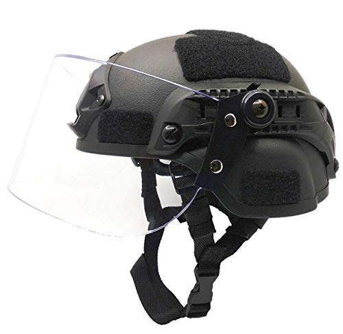 Lightweight Quick-Protection Helmet Mich 2000 with Anti-Riot...
