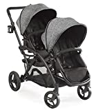 Product Image of the Contours Options Elite Tandem Double Toddler & Baby Stroller, Adjustable...