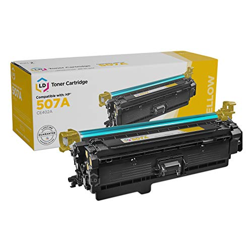 Price comparison product image LD Remanufactured Toner Cartridge Replacement for HP 507A CE402A (Yellow)