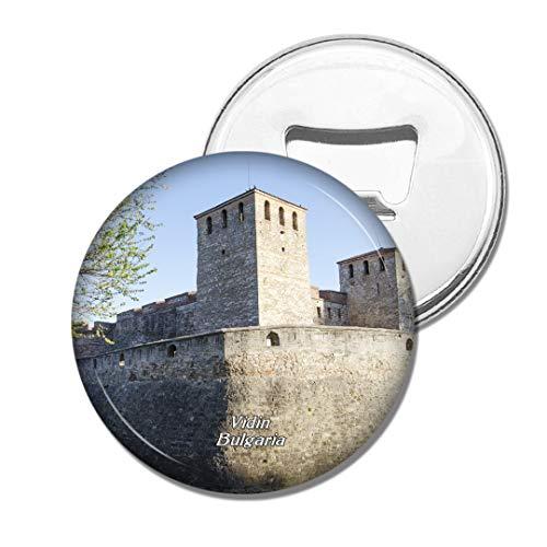 Weekino Bulgarien Festung Baba Vida Vidin Bier Flaschenöffner Kühlschrank Magnet Metall Souvenir Reise Gift
