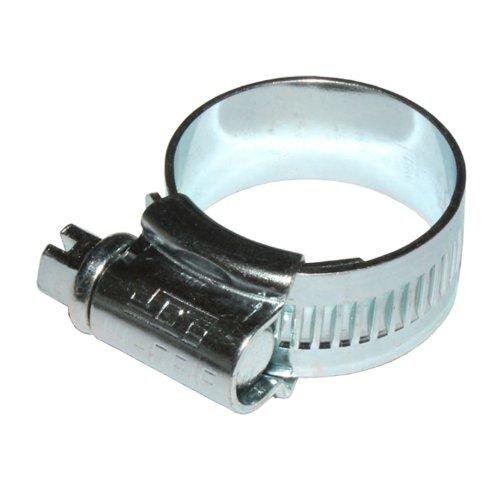 2 x Serre-joint tuyau JCS grip haut taille 30 plaqué zinc 22-30mm JUBILEE TYPE 1A