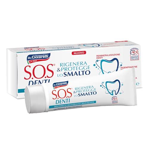 S.O.S Denti Rigenera e Protegge lo Smalto Dentifricio Dr. Ciccarelli - 3 confezioni da 75 ml