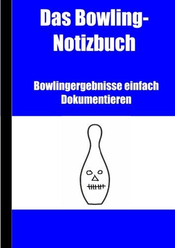 Bowling Notizbuch
