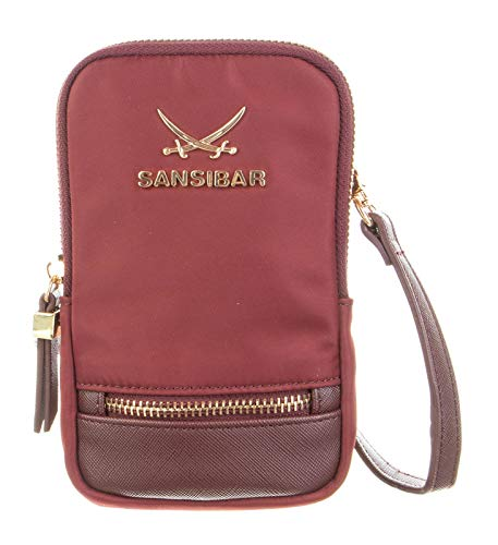SANSIBAR - Bolso bandolera para mujer 17 x 10 x 3 cm.