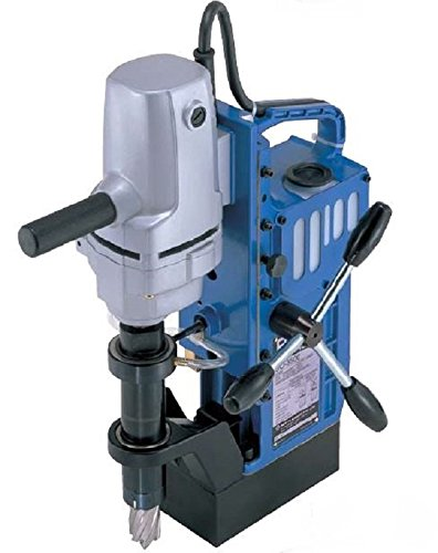 ace drills Nitto Kohki UO-3500 Atra Ace Manual Feed Magnetic Drill, Uses Hi-Broach HSS Annular Cutters, 1-3/8