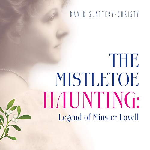 The Mistletoe Haunting audiobook cover art