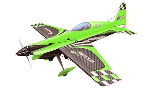Amewi 24082 Shockflyer Edge 540V3 3mm grün Kit, Flexi Foam, Modellbausatz, ferngesteuert