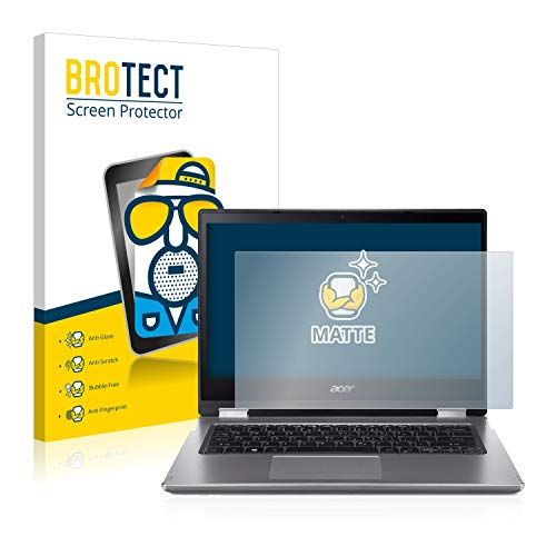 BROTECT Protector Pantalla Anti-Reflejos Compatible con Acer Spin 3 SP314-53GN Pelicula Mate Anti-Huellas